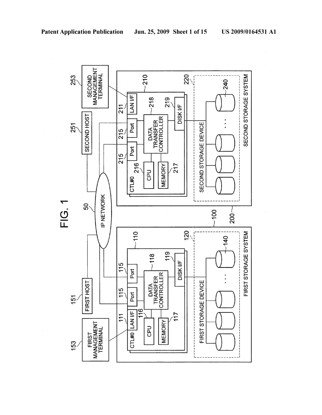 REMOTE COPY SYSTEM, REMOTE ENVIRONMENT SETTING METHOD, AND DATA RESTORE METHOD - diagram, schematic, and image 02