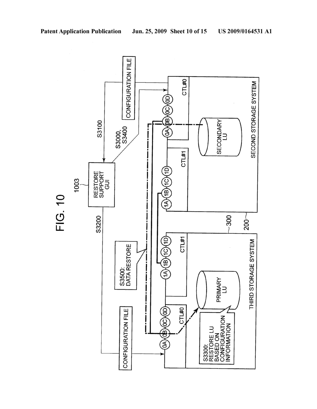 REMOTE COPY SYSTEM, REMOTE ENVIRONMENT SETTING METHOD, AND DATA RESTORE METHOD - diagram, schematic, and image 11