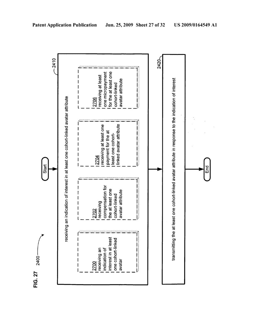 Methods and systems for determining interest in a cohort-linked avatar - diagram, schematic, and image 28