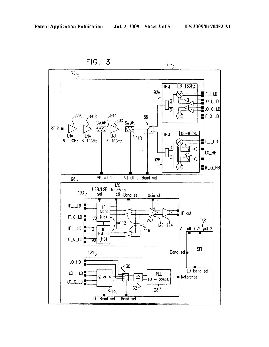 Integrated RF-IF converter - diagram, schematic, and image 03