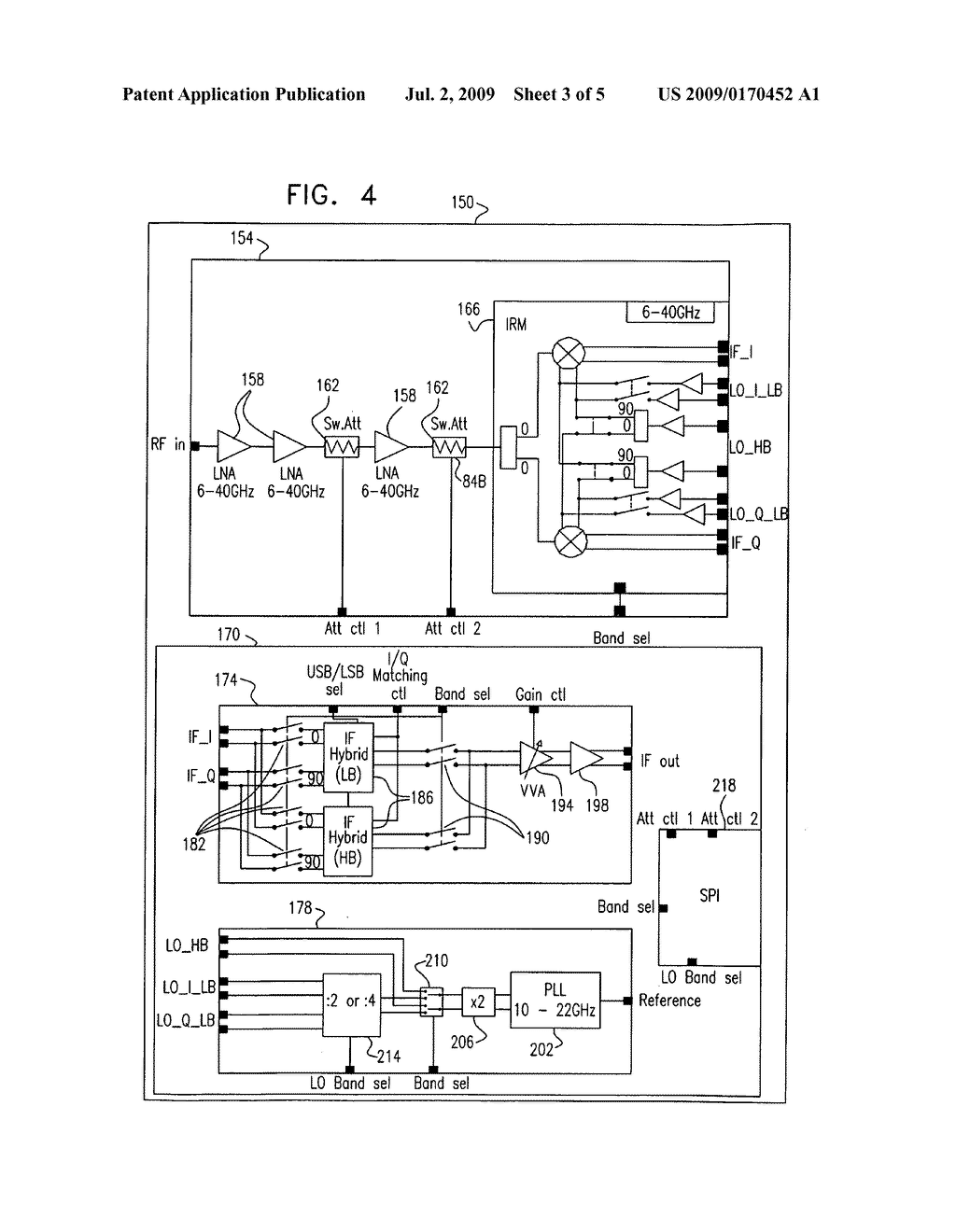 Integrated RF-IF converter - diagram, schematic, and image 04