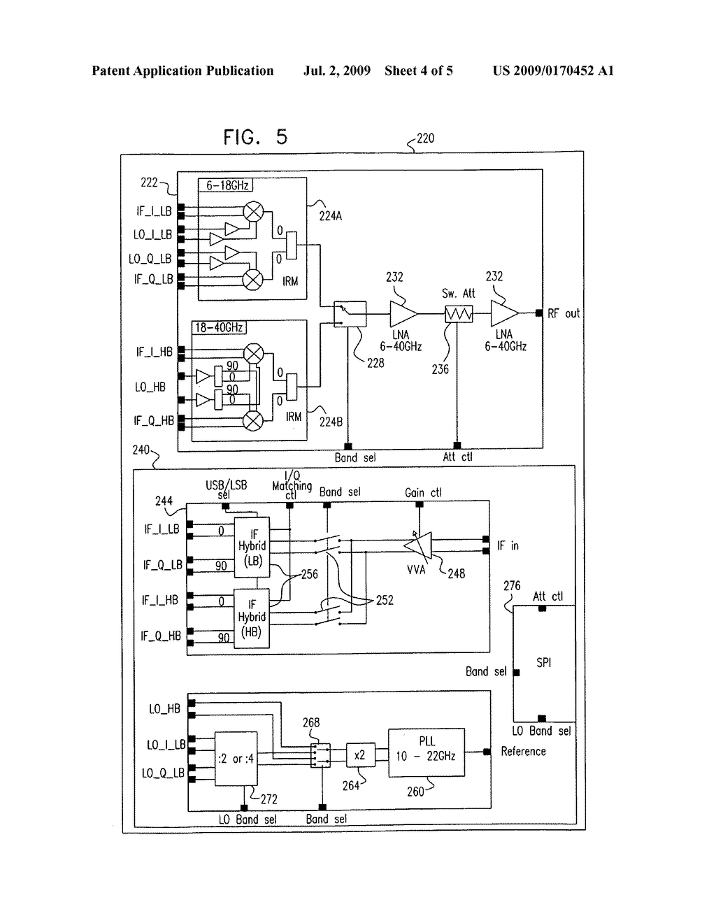 Integrated RF-IF converter - diagram, schematic, and image 05