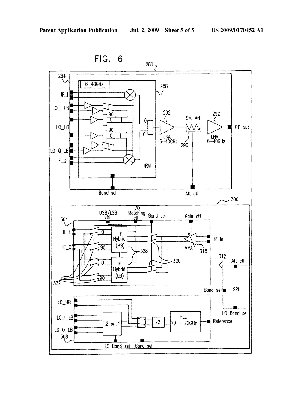 Integrated RF-IF converter - diagram, schematic, and image 06