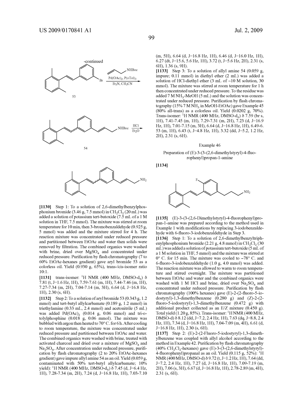 Styrenyl Derivative Compounds for Treating Ophthalmic Diseases and Disorders - diagram, schematic, and image 102