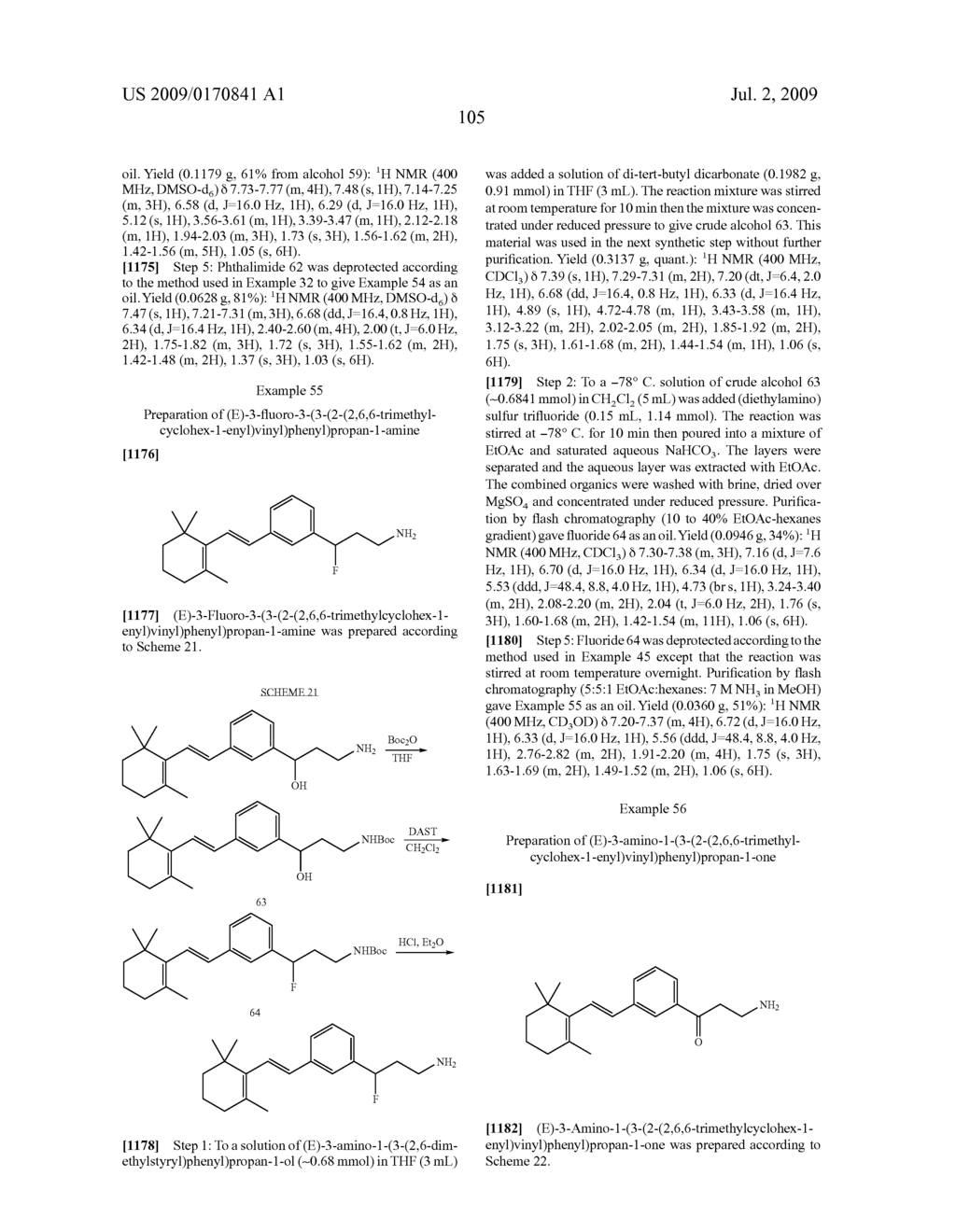 Styrenyl Derivative Compounds for Treating Ophthalmic Diseases and Disorders - diagram, schematic, and image 108