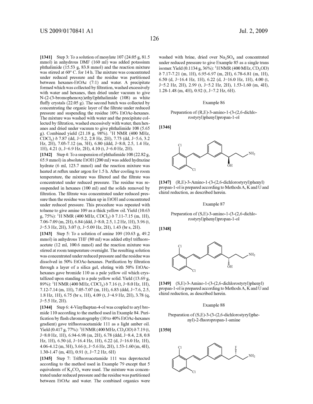 Styrenyl Derivative Compounds for Treating Ophthalmic Diseases and Disorders - diagram, schematic, and image 129
