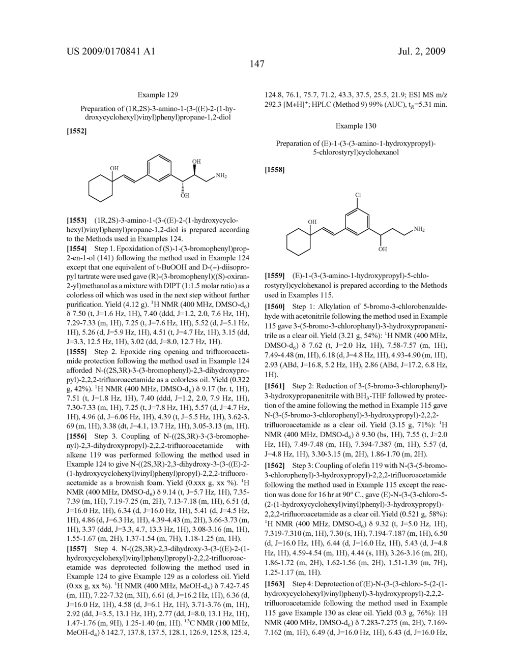 Styrenyl Derivative Compounds for Treating Ophthalmic Diseases and Disorders - diagram, schematic, and image 150