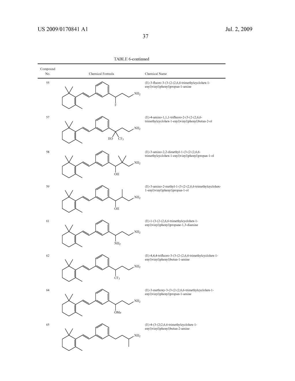 Styrenyl Derivative Compounds for Treating Ophthalmic Diseases and Disorders - diagram, schematic, and image 40