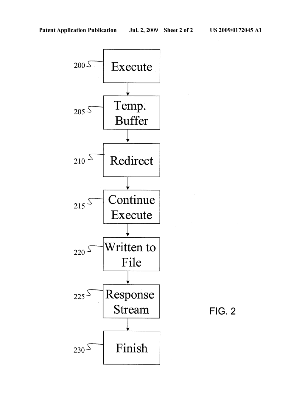 SYSTEM AND METHOD FOR ARCHIVING PORTIONS OF AN OUTPUT OF A WEB APPLICATION - diagram, schematic, and image 03
