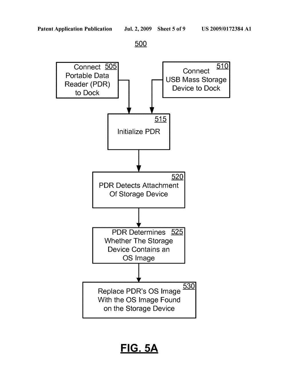 SYSTEMS AND METHODS FOR CONFIGURING, UPDATING, AND BOOTING AN ALTERNATE OPERATING SYSTEM ON A PORTABLE DATA READER - diagram, schematic, and image 06