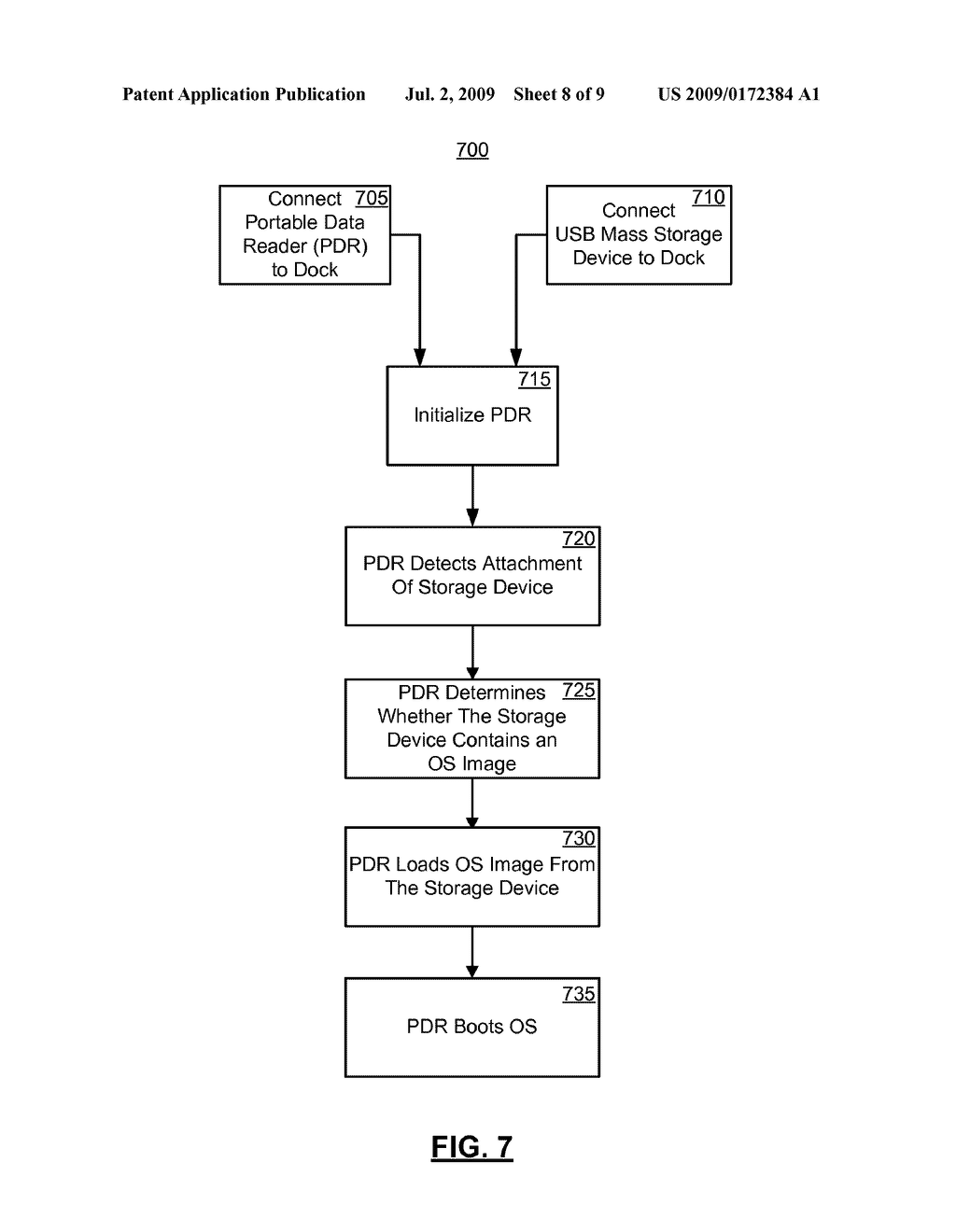 SYSTEMS AND METHODS FOR CONFIGURING, UPDATING, AND BOOTING AN ALTERNATE OPERATING SYSTEM ON A PORTABLE DATA READER - diagram, schematic, and image 09