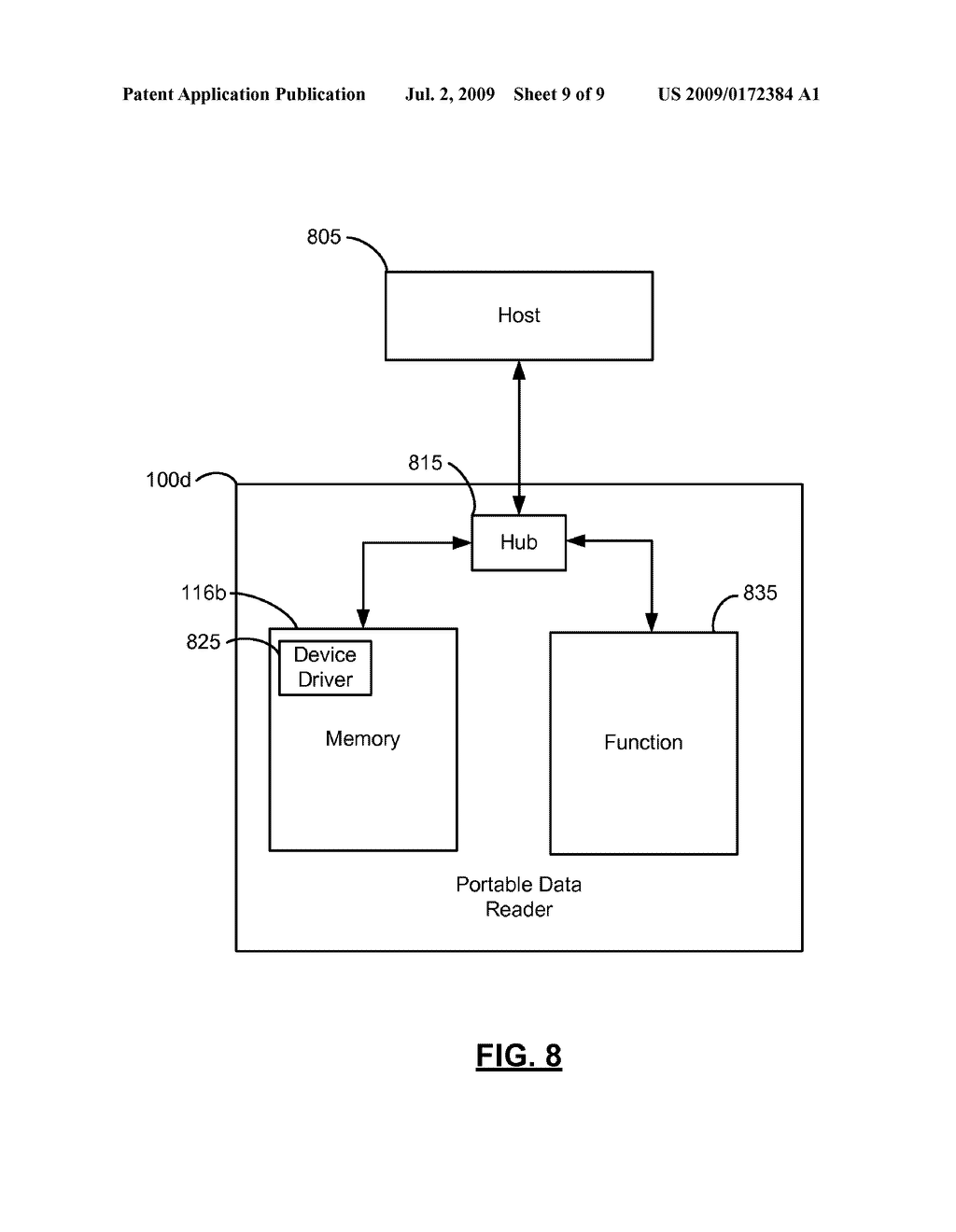 SYSTEMS AND METHODS FOR CONFIGURING, UPDATING, AND BOOTING AN ALTERNATE OPERATING SYSTEM ON A PORTABLE DATA READER - diagram, schematic, and image 10
