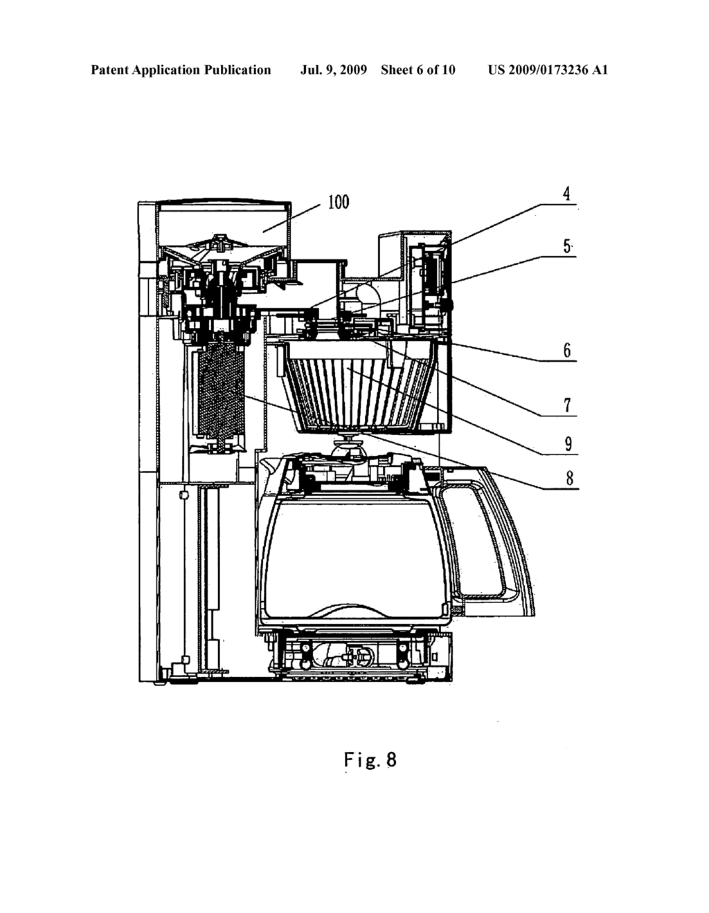 Drip Coffee Maker Diagram