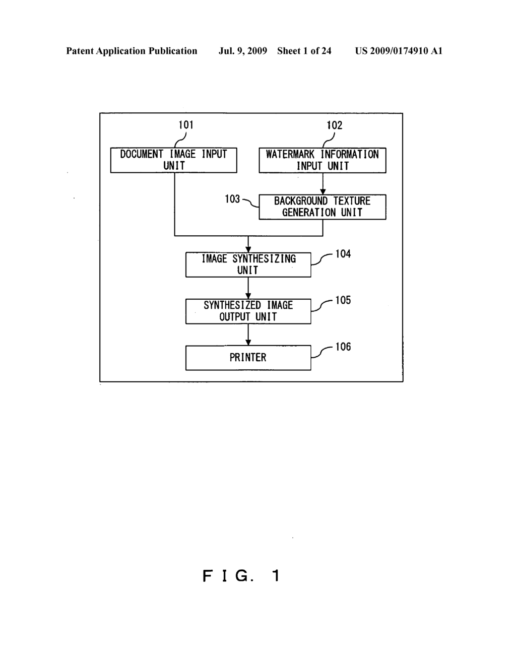 DIGITAL WATERMARK EMBEDDING APPARATUS AND DIGITAL WATERMARK DETECTING APPARATUS - diagram, schematic, and image 02