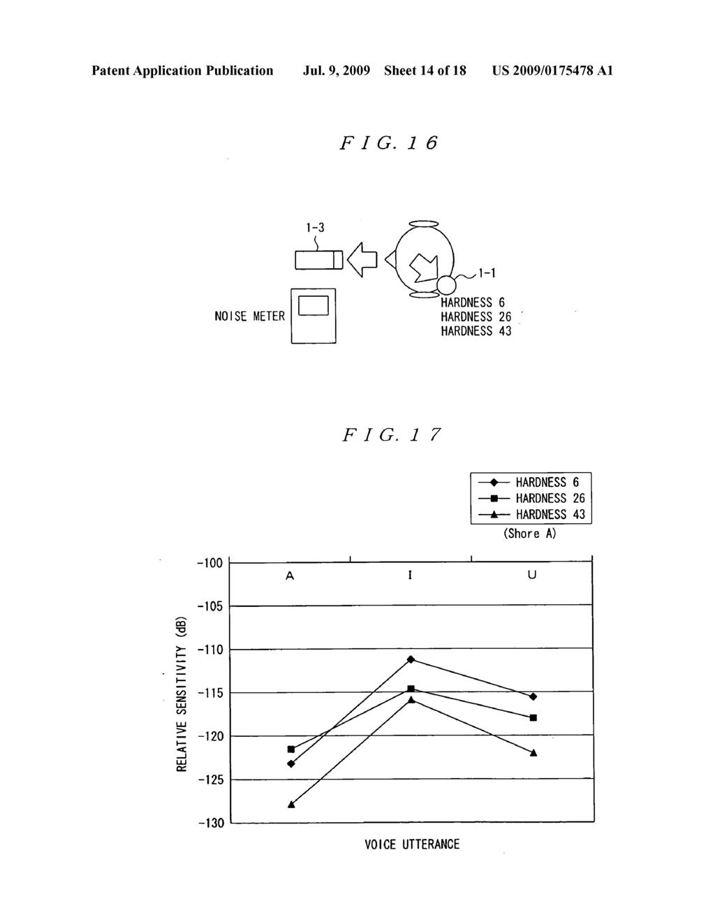 Flesh conducted sound microphone, signal processing device, communication interface system and sound sampling method - diagram, schematic, and image 15