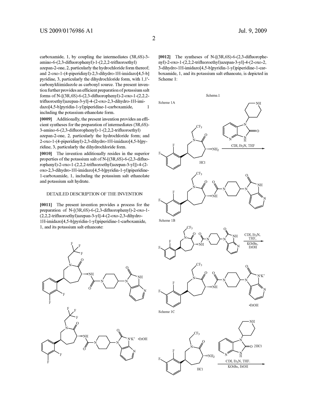 Process for the Preparation of Pyridine Heterocycle Cgrp Antagonist Intermediate - diagram, schematic, and image 03