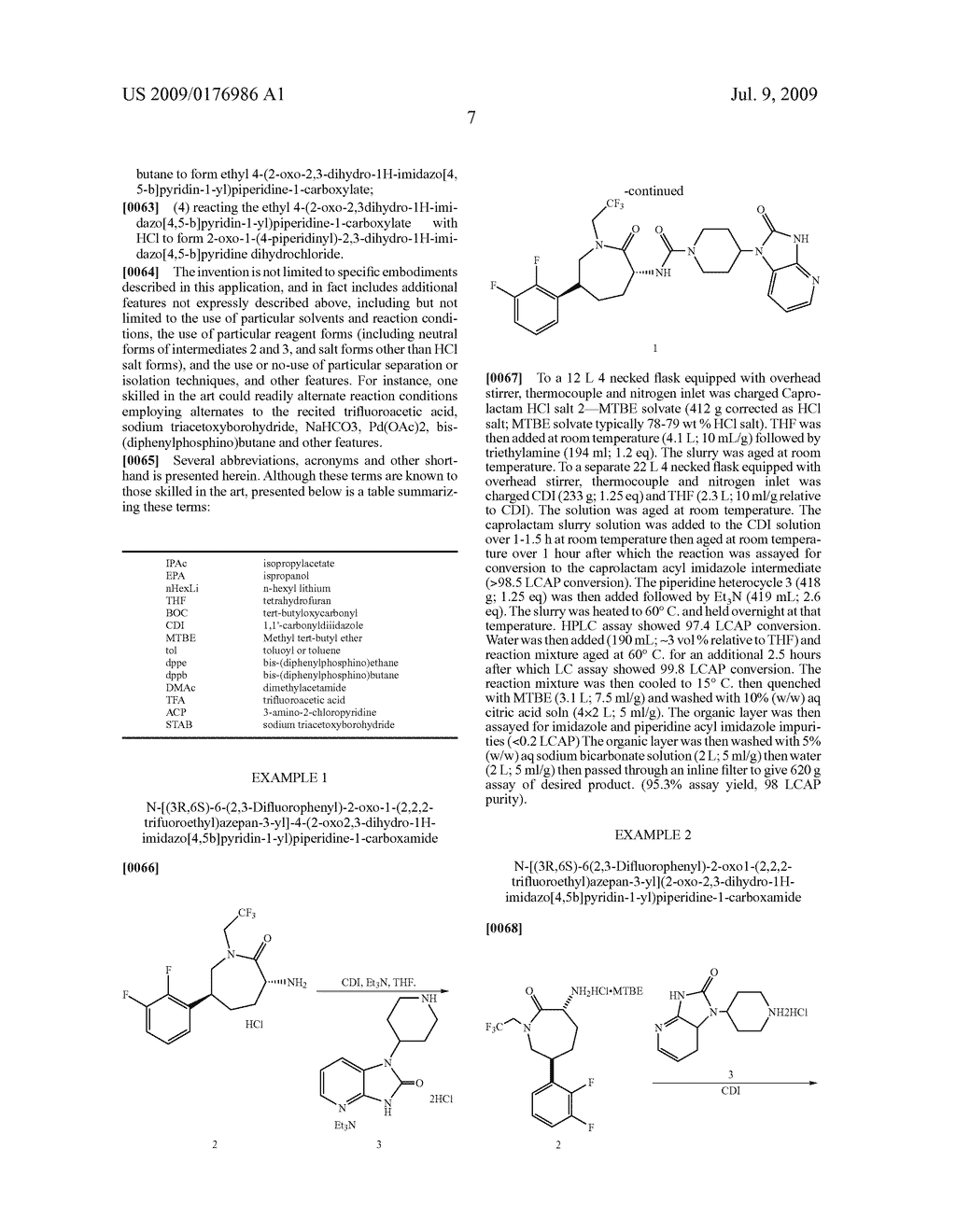 Process for the Preparation of Pyridine Heterocycle Cgrp Antagonist Intermediate - diagram, schematic, and image 08