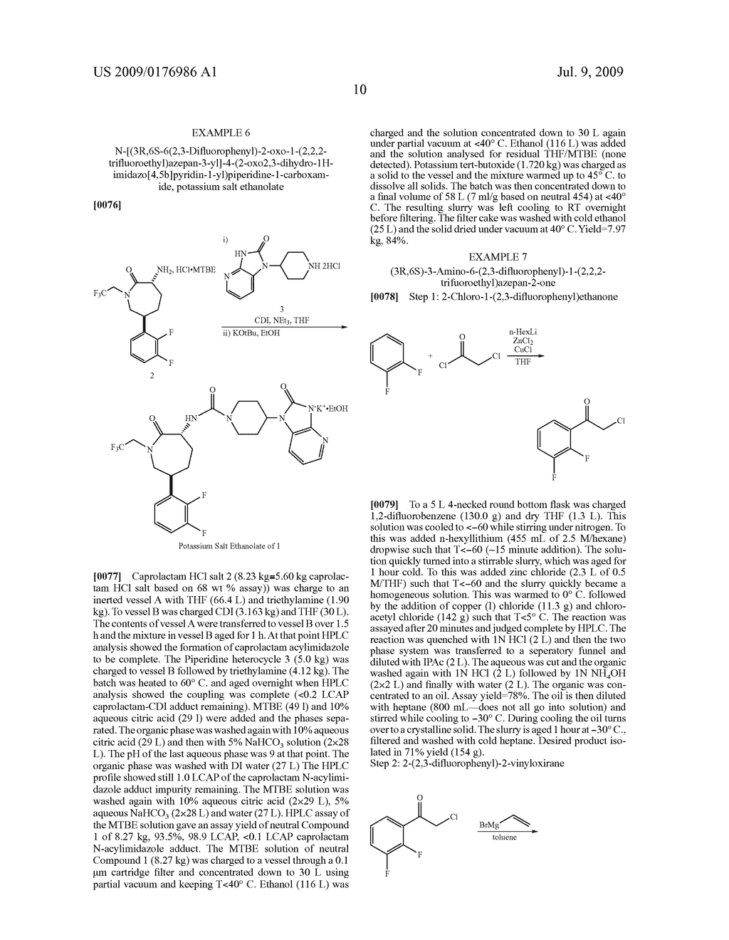 Process for the Preparation of Pyridine Heterocycle Cgrp Antagonist Intermediate - diagram, schematic, and image 11