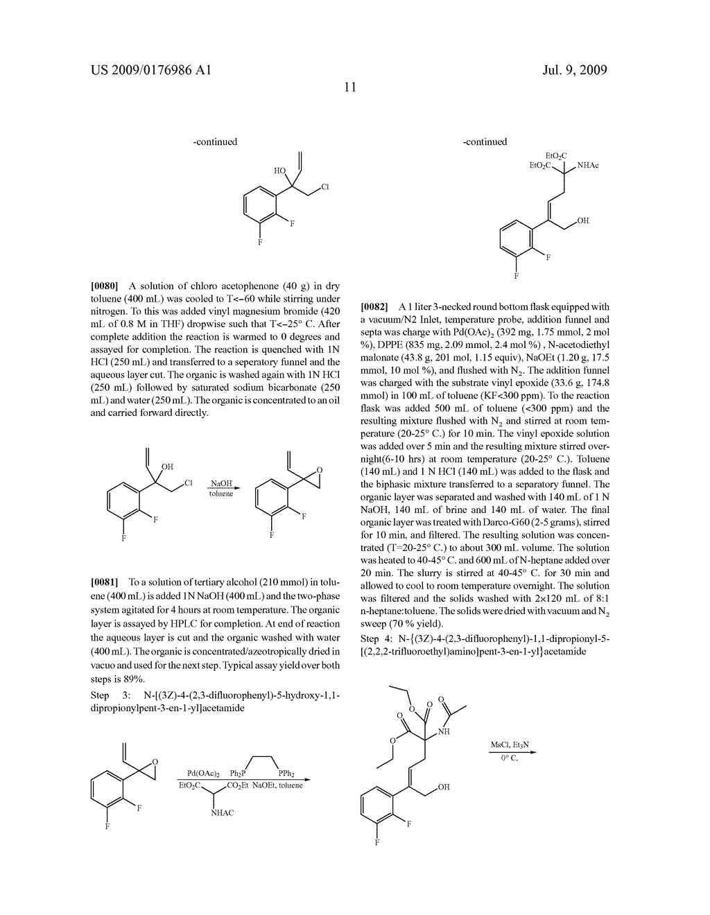 Process for the Preparation of Pyridine Heterocycle Cgrp Antagonist Intermediate - diagram, schematic, and image 12