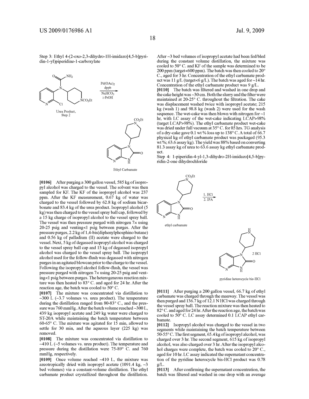 Process for the Preparation of Pyridine Heterocycle Cgrp Antagonist Intermediate - diagram, schematic, and image 19