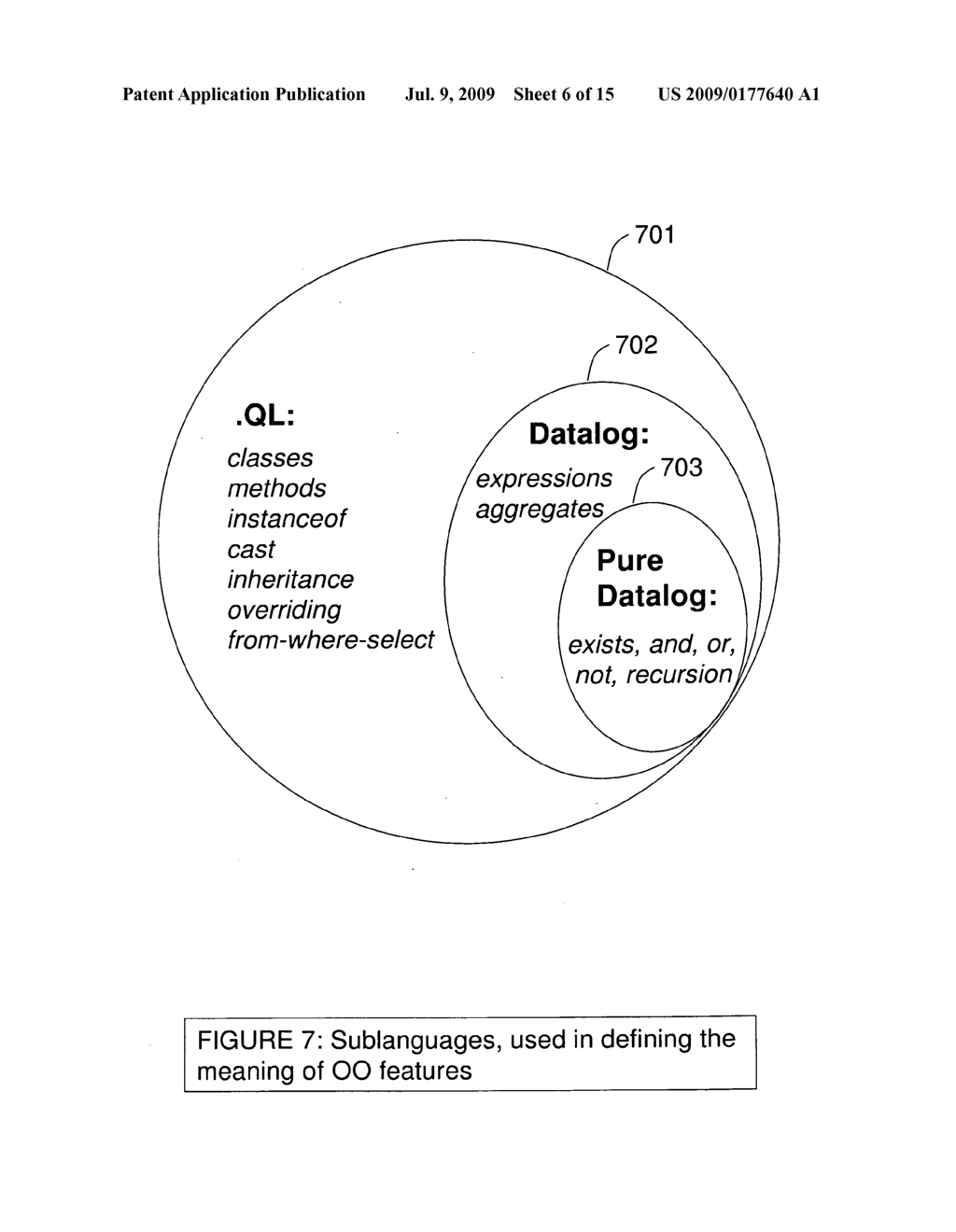 CREATING CONCISE AND RE-USEABLE QUERIES OVER COMPLEX DATA - diagram, schematic, and image 07
