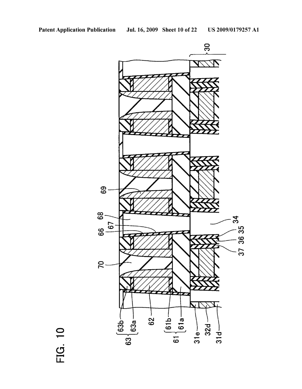 NON-VOLATILE SEMICONDUCTOR MEMORY DEVICE AND METHOD OF MANUFACTURING THE SAME - diagram, schematic, and image 11