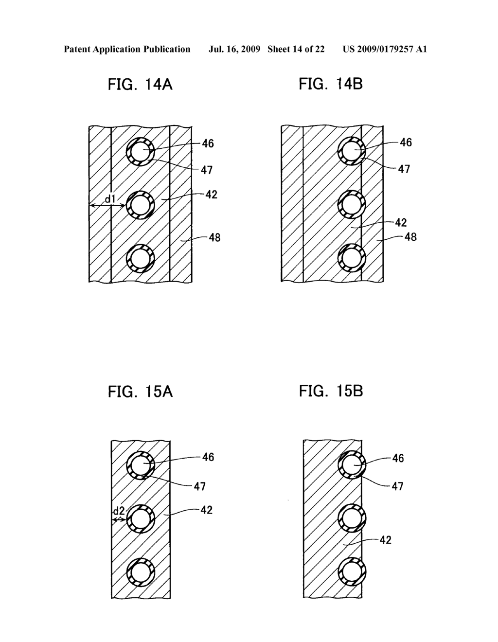 NON-VOLATILE SEMICONDUCTOR MEMORY DEVICE AND METHOD OF MANUFACTURING THE SAME - diagram, schematic, and image 15