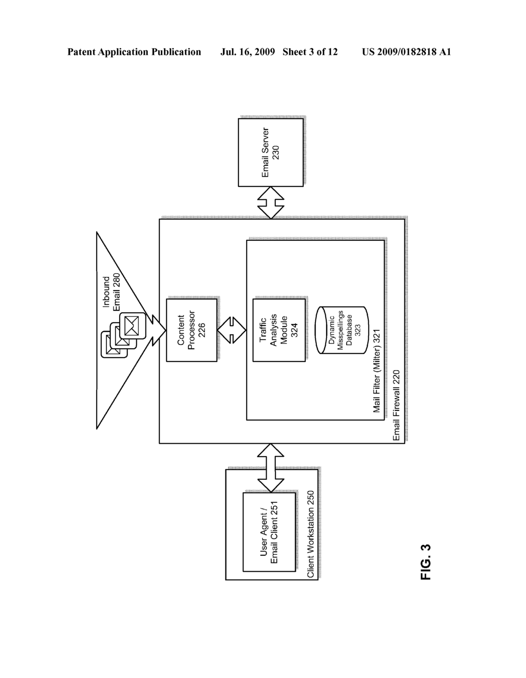 HEURISTIC DETECTION OF PROBABLE MISSPELLED ADDRESSES IN ELECTRONIC COMMUNICATIONS - diagram, schematic, and image 04