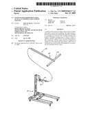 STAND SYSTEM FOR HOLDING PARTS, SUCH AS AUTOMOBILE PARTS, DURING PAINTING diagram and image