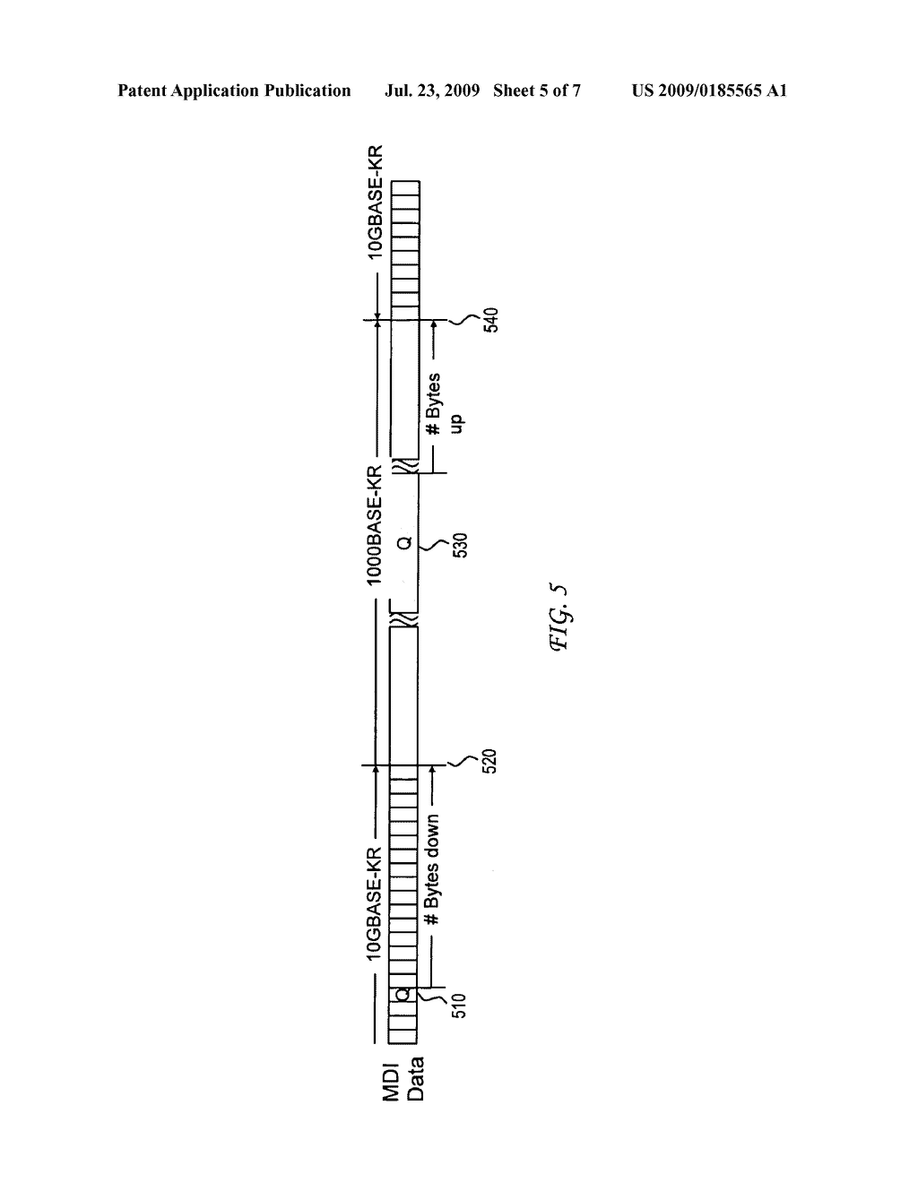 SYSTEM AND METHOD FOR USING SEQUENCE ORDERED SETS FOR ENERGY EFFICIENT ETHERNET COMMUNICATION - diagram, schematic, and image 06