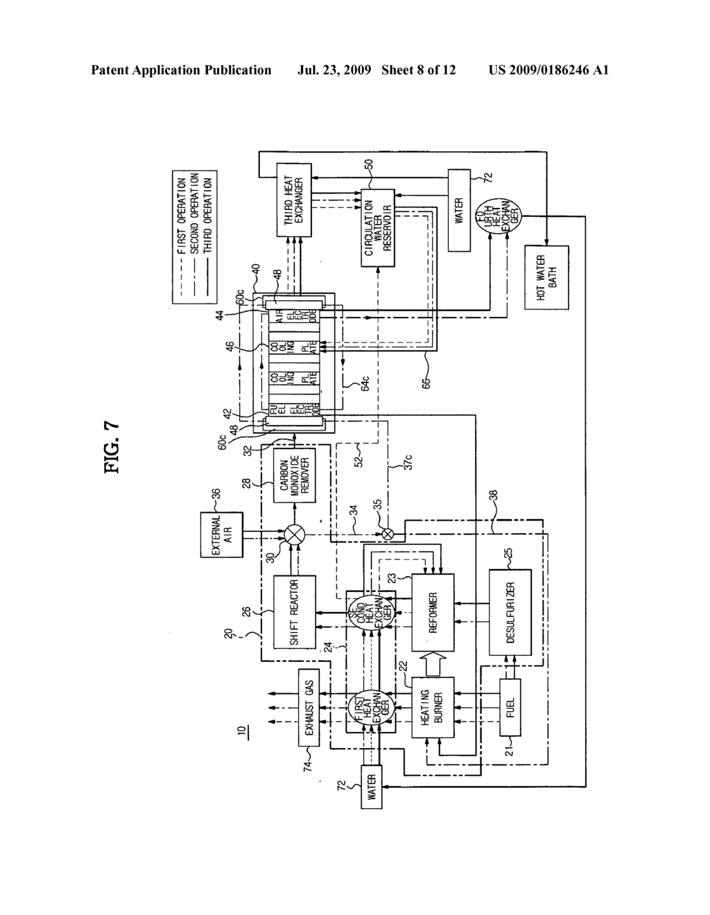 Fuel cell and control method thereof - diagram, schematic, and image 09