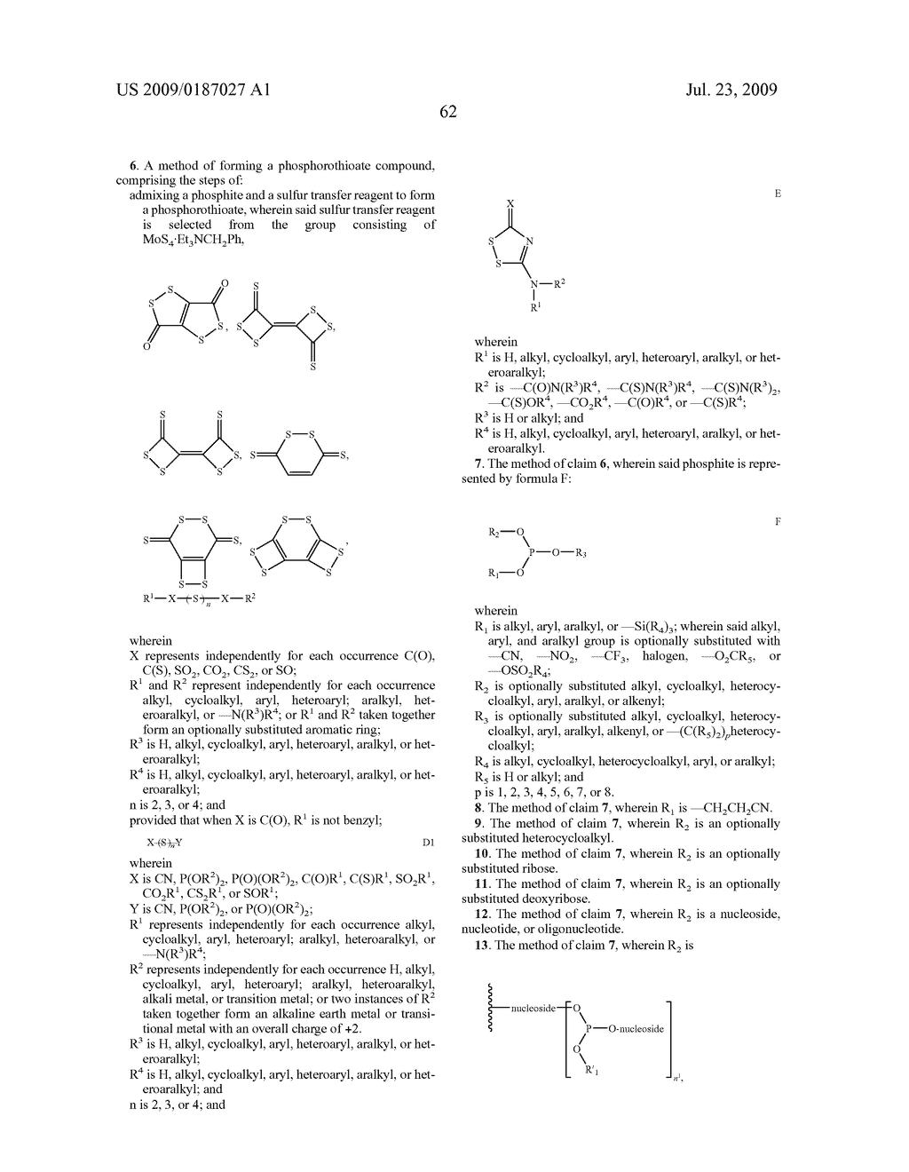 PROCESSES AND REAGENTS FOR SULFURIZATION OF OLIGONUCLEOTIDES - diagram, schematic, and image 114