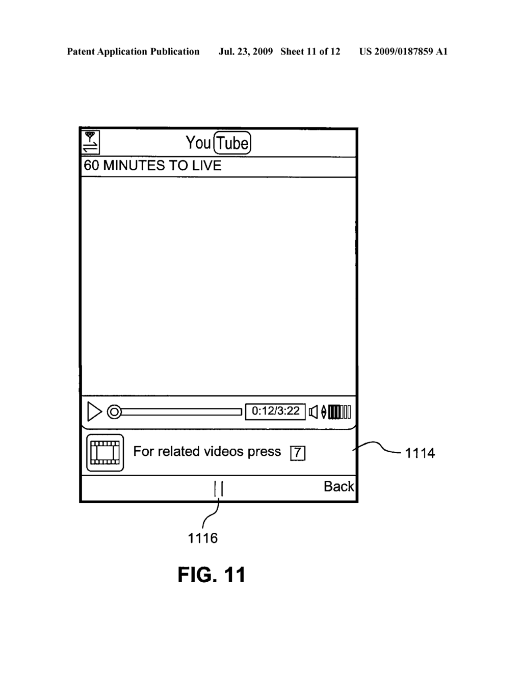 Graphical user interface elements using video pre-fetch - diagram, schematic, and image 12
