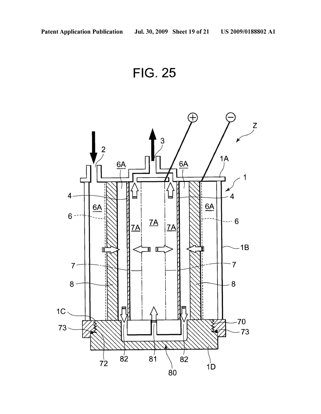 ION REMOVAL DEVICE AND METHOD FOR USING THE SAME - diagram, schematic, and image 20