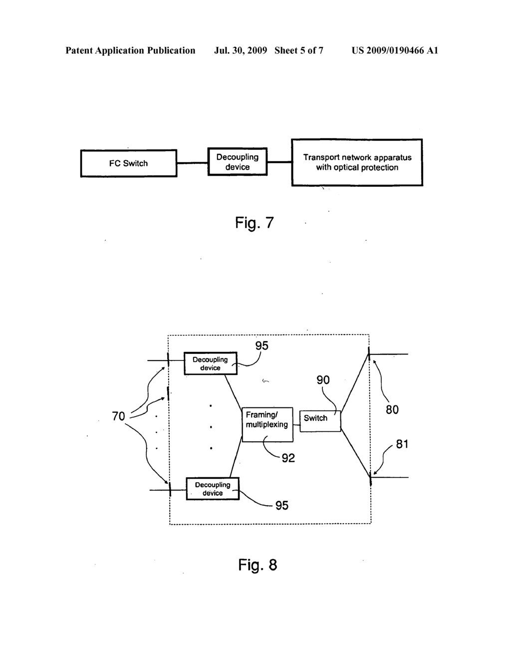 Method and an apparatus for preventing traffic interruptions between client ports exchanging information through a communication network - diagram, schematic, and image 06