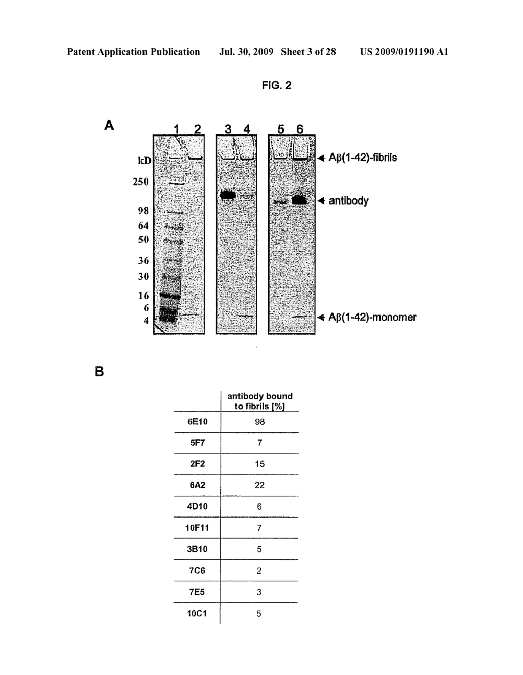 Anti-ABeta Globulomer Antibodies, Antigen-Binding Moieties Thereof, Corresponding Hybridomas, Nucleic Acids, Vectors, Host Cells, Methods of Producing Said Antibodies, Compositions Comprising Said Antibodies, Uses Of Said Antibodies And Methods Of Using Said Antibodies - diagram, schematic, and image 04