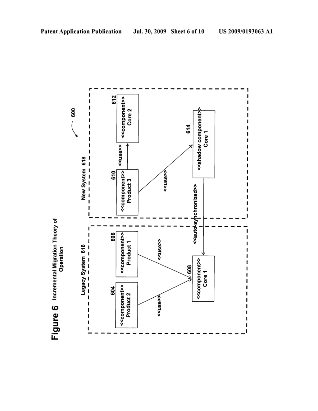 SYSTEM AND METHOD FOR LEGACY SYSTEM COMPONENT INCREMENTAL MIGRATION - diagram, schematic, and image 07