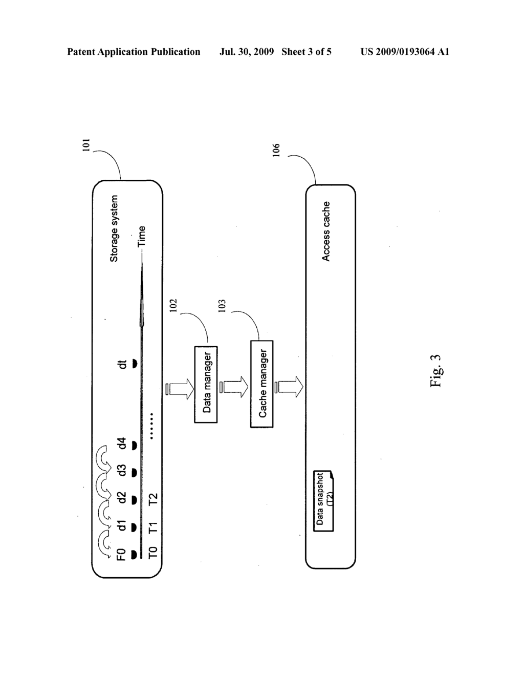 METHOD AND SYSTEM FOR ACCESS-RATE-BASED STORAGE MANAGEMENT OF CONTINUOUSLY STORED DATA - diagram, schematic, and image 04