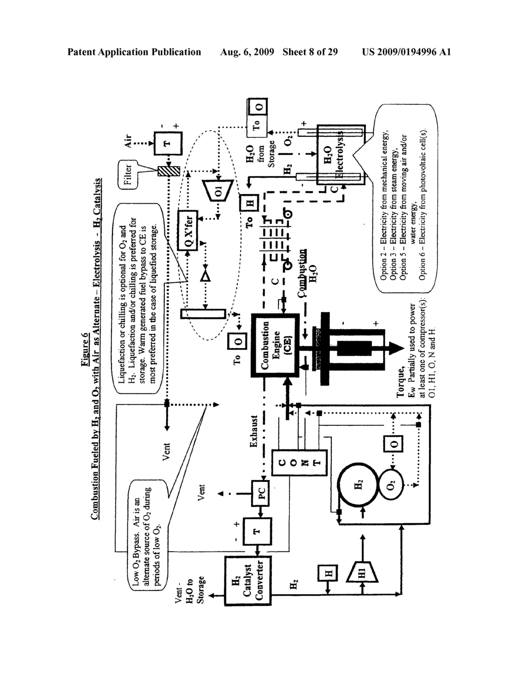 Water combustion technology - methods, processes, systems and apparatus for the combustion of Hydrogen and Oxygen - diagram, schematic, and image 09