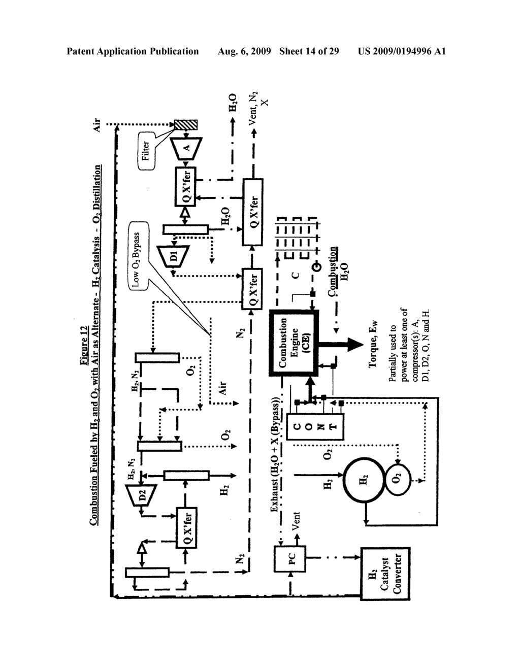 Water combustion technology - methods, processes, systems and apparatus for the combustion of Hydrogen and Oxygen - diagram, schematic, and image 15