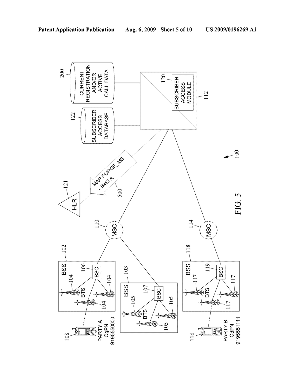 METHODS, SYSTEMS, AND COMPUTER READABLE MEDIA FOR CONTROLLING ACCESS TO VOICE RESOURCES IN MOBILE NETWORKS USING MOBILITY MANAGEMENT SIGNALING MESSAGES - diagram, schematic, and image 06