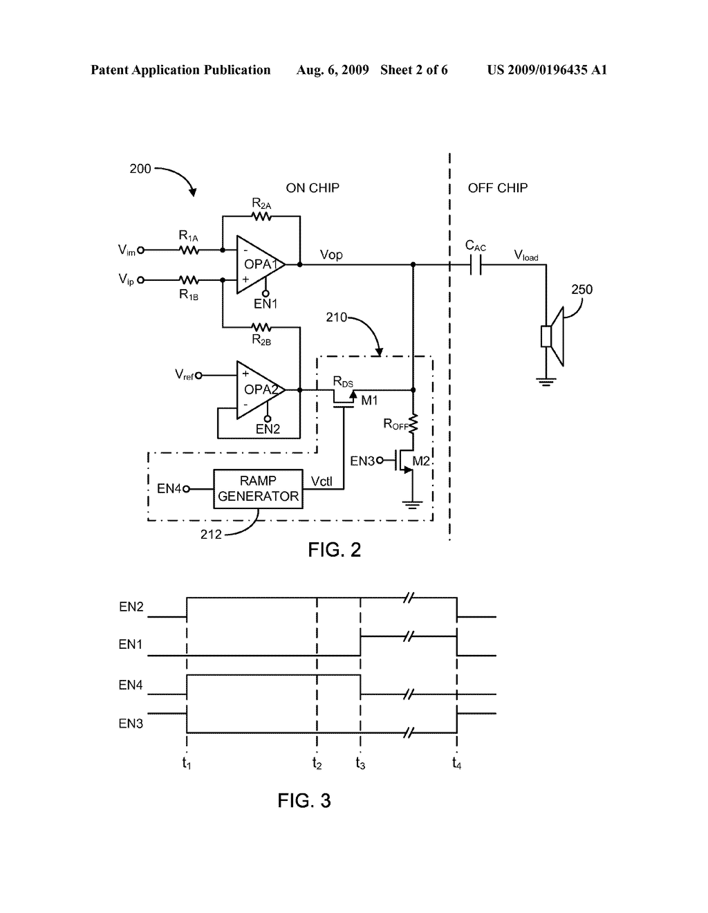 SYSTEM AND METHOD OF REDUCING CLICK AND POP NOISE IN AUDIO PLAYBACK DEVICES - diagram, schematic, and image 03