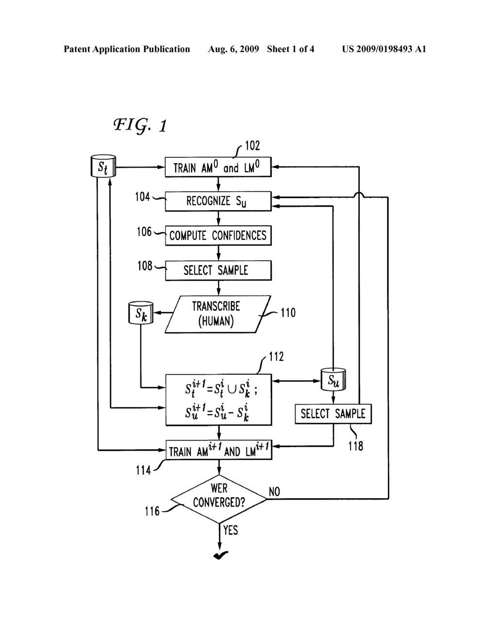 System And Method For Unsupervised Active Learning Automatic Speech Recognition Circuit Diagram Schematic Image 02