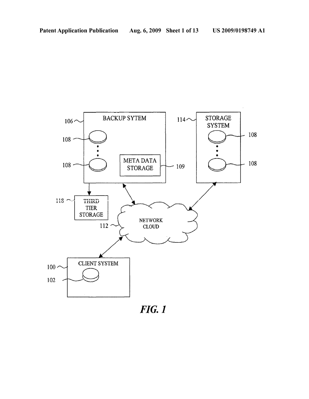 SYSTEM AND METHODS FOR EFFICIENTLY MANAGING INCREMENTAL DATA BACKUP REVISIONS - diagram, schematic, and image 02