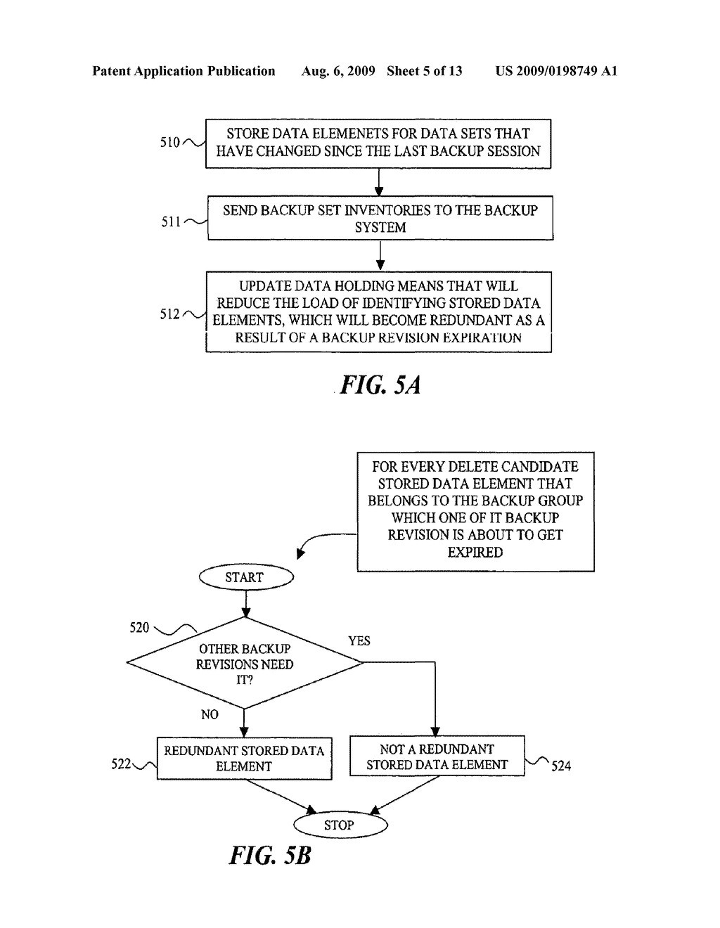 SYSTEM AND METHODS FOR EFFICIENTLY MANAGING INCREMENTAL DATA BACKUP REVISIONS - diagram, schematic, and image 06
