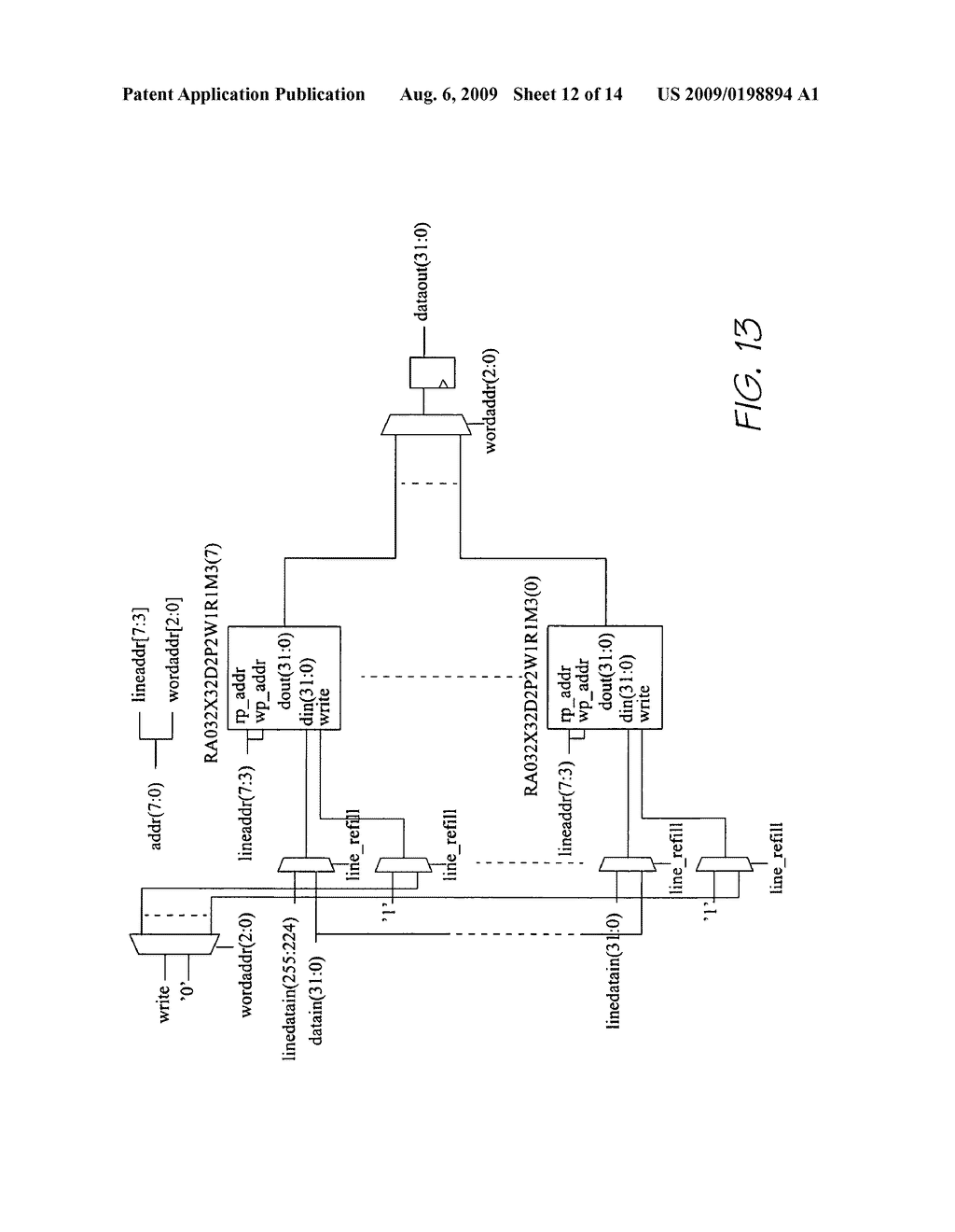 Method Of Updating IC Instruction And Data Cache - diagram, schematic, and image 13