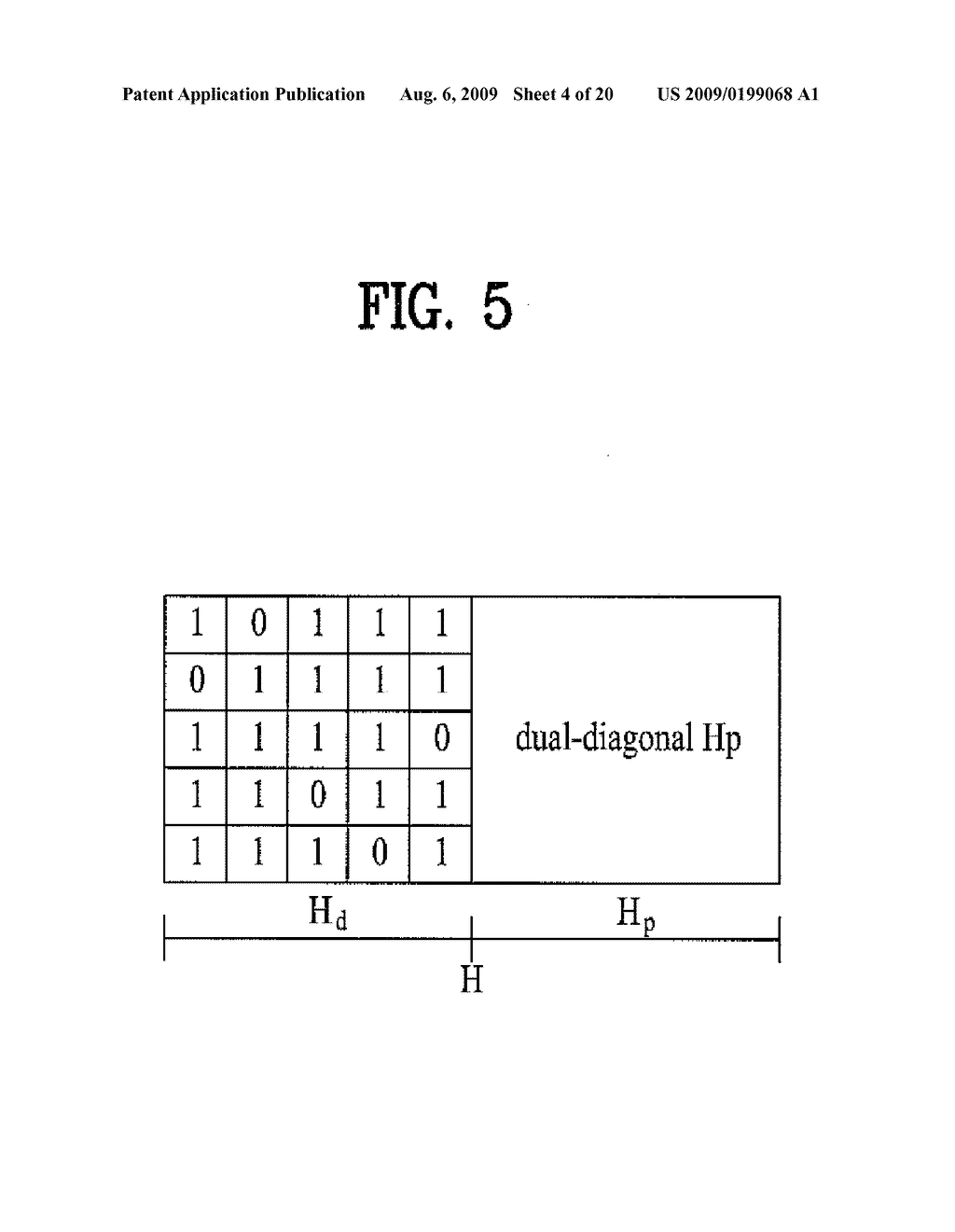 METHOD AND APPARATUS OF ENCODING AND DECODING DATA USING LOW DENSITY PARITY CHECK CODE IN A WIRELESS COMMUNICATION SYSTEM - diagram, schematic, and image 05