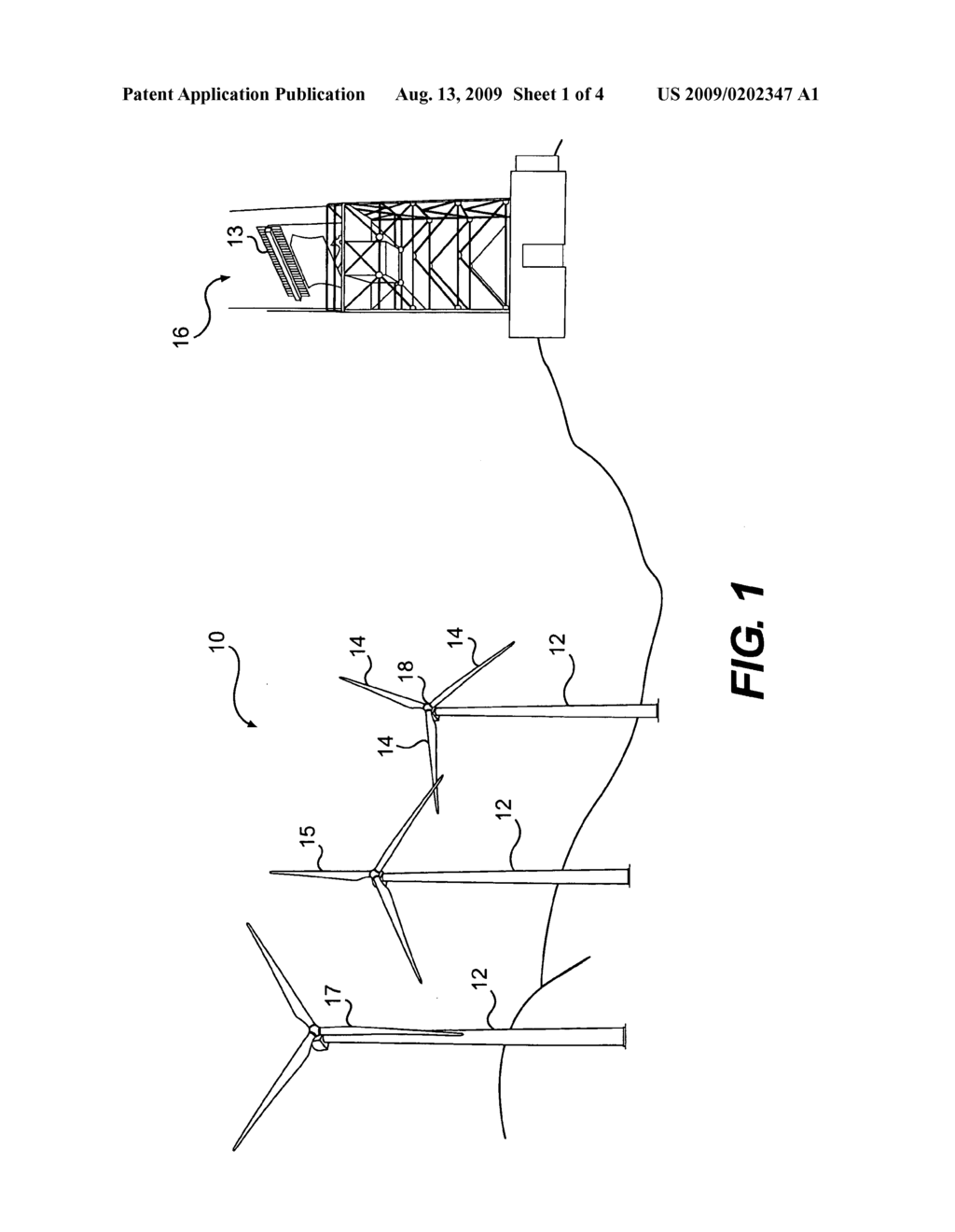 Systems and methods for mitigating the effects of wind turbines on radar - diagram, schematic, and image 02
