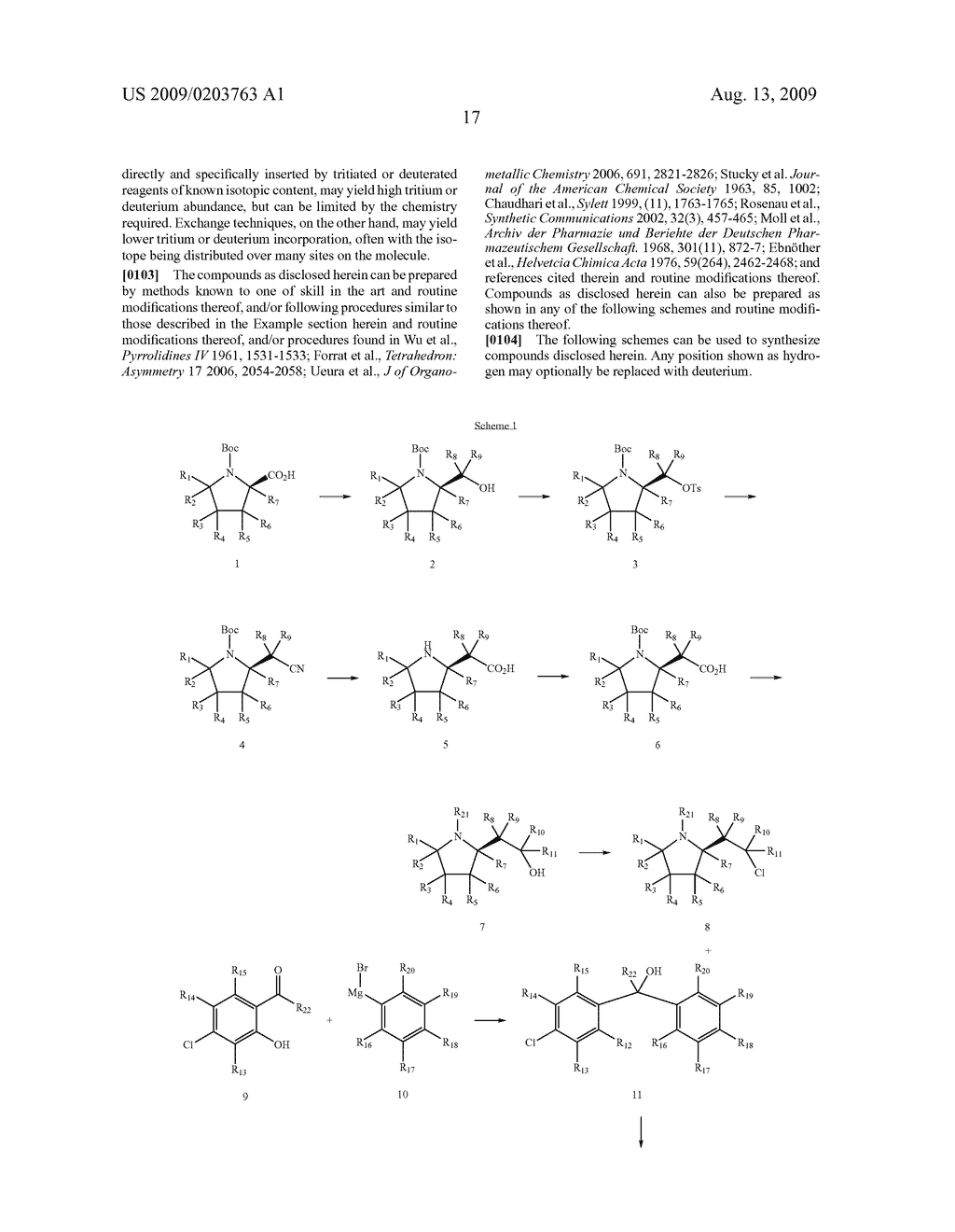 SUBSTITUTED BENZHYDRYLETHERS - diagram, schematic, and image 18