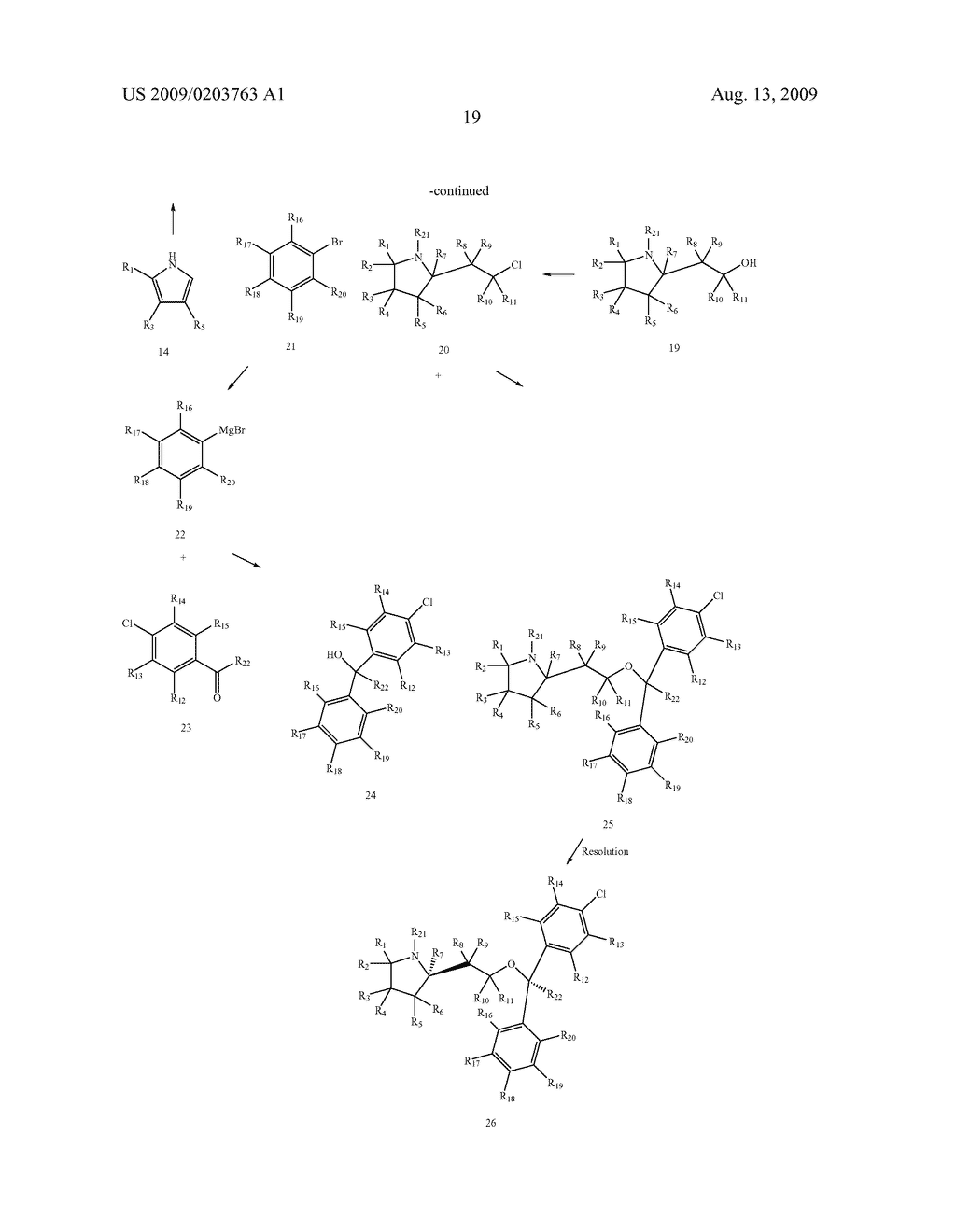 SUBSTITUTED BENZHYDRYLETHERS - diagram, schematic, and image 20